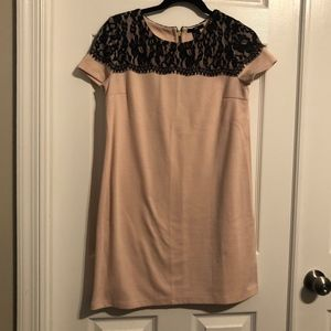 Light Pink Shift Dress